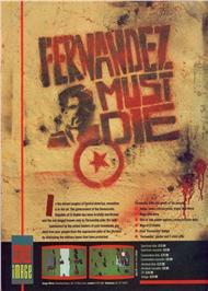 Fernandez Must Die per Amstrad CPC