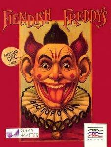 Fiendish Freddy's Big Top O' Fun per Amstrad CPC