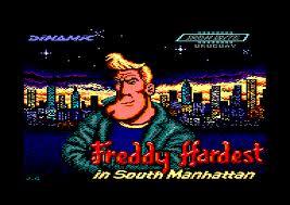 Freddy Hardest in South Manhattan per Amstrad CPC