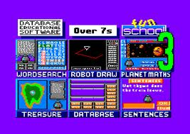 Fun School 3: for 5 to 7 year olds per Amstrad CPC
