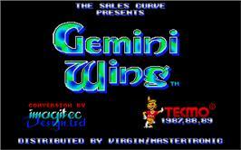 Gemini Wing per Amstrad CPC