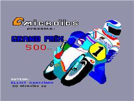 Grand Prix 500 2 per Amstrad CPC