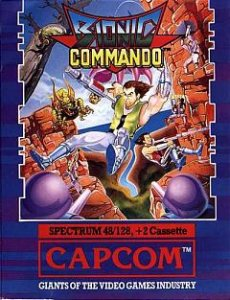 Bionic Commando per Sinclair ZX Spectrum