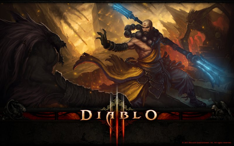 Diablo III richiederà una connessione a internet sempre attiva