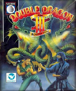 Double Dragon III: The Rosetta Stone per Atari ST