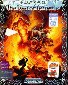Elvira II: The Jaws Of Cerberus per Atari ST