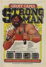 Geoff Capes Strongman Challenge per Amstrad CPC