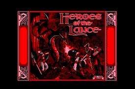 Heroes of the Lance per Amstrad CPC