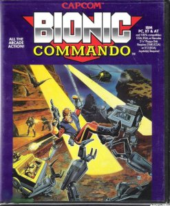 Bionic Commando per PC MS-DOS