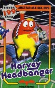 Harvey Headbanger per Amstrad CPC