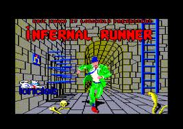 Infernal Runner per Amstrad CPC
