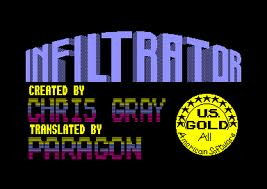 Infiltrator per Amstrad CPC