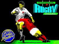 International Rugby Simulator per Amstrad CPC