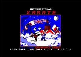 International Karate + per Amstrad CPC