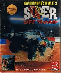 "Ivan ""Iron Man"" Stewart's Super Off Road per Amstrad CPC"