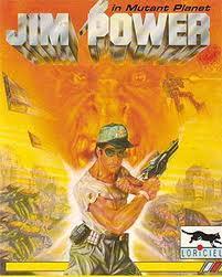 Jim Power in Mutant Planet per Amstrad CPC
