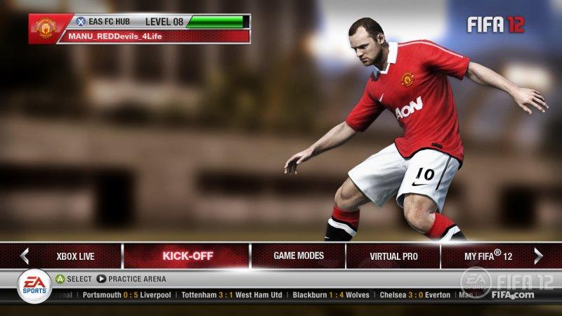 La nuova carriera di FIFA 12