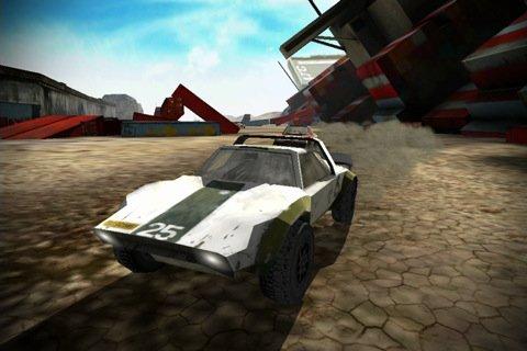 Tempesta di motori nel deserto