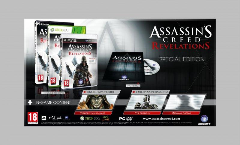 E3 2011, tre diverse Limited per Assassin's Creed Revelations