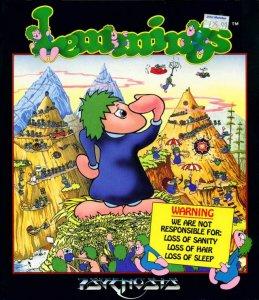 Lemmings per Atari ST