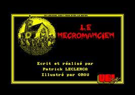 Le Necromancien per Amstrad CPC