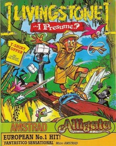 Livingstone, I Presume per Amstrad CPC