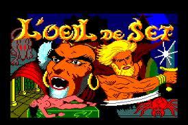 L'Oeil de Set per Amstrad CPC