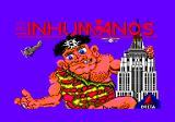 Los Inhumanos per Amstrad CPC