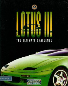 Lotus III: The Ultimate Challenge per Atari ST