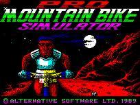 Mountain Bike Simulator per Amstrad CPC