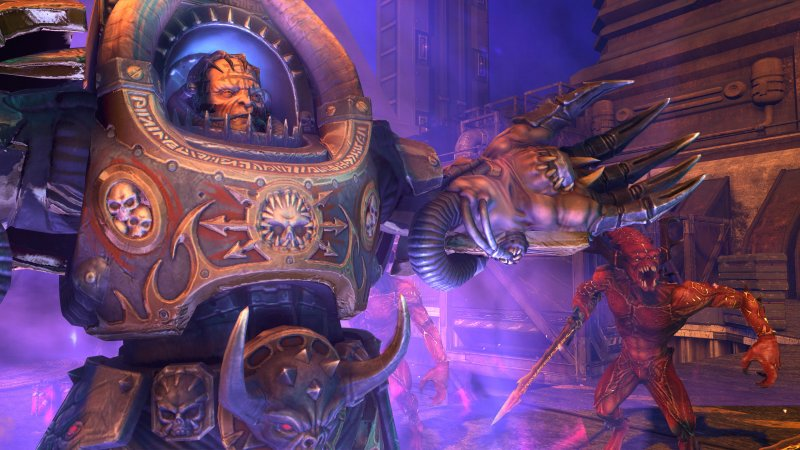 Il co-op di Warhammer 40K: Space Marine arriverà dopo il lancio