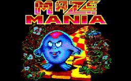Maze Mania per Amstrad CPC