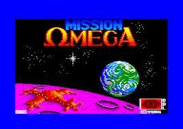 Mission Omega per Amstrad CPC