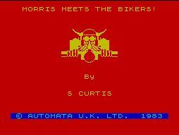 Morris Meets the Bikers per Amstrad CPC