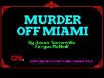 Murder Off Miami per Amstrad CPC