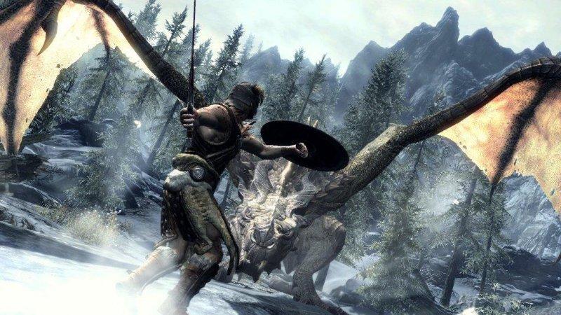 Skyrim - I draghi saranno liberi di attaccarci, ma non troppo