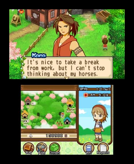 La soluzione di Harvest Moon: The Tale of Two Towns
