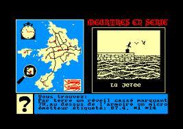 Meurtres en Série per Amstrad CPC