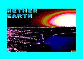 Nether Earth per Amstrad CPC