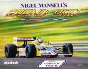 Nigel Mansell's Grand Prix per Amstrad CPC