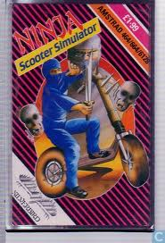 Ninja Scooter Simulator per Amstrad CPC
