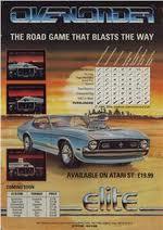 Overlander per Amstrad CPC