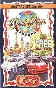 OutRun Europa per Amstrad CPC
