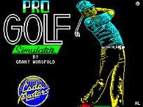 Pro Golf Simulator per Amstrad CPC