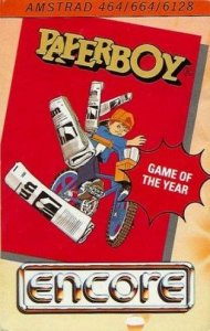 Paperboy per Amstrad CPC