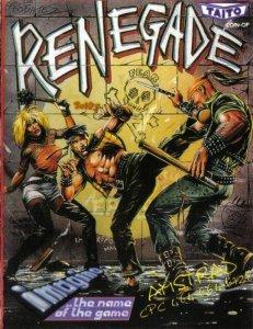 Renegade per Amstrad CPC