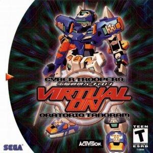 Virtual On Oratorio Tangram per Dreamcast