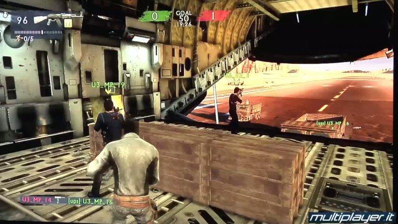 Uncharted 3, in arrivo la componente multiplayer per gli utenti Plus