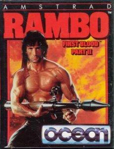 Rambo: First Blood Part II per Amstrad CPC