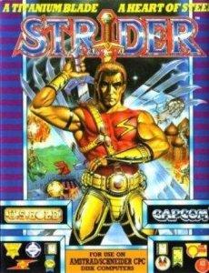Strider per Amstrad CPC